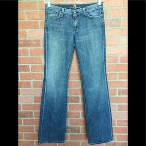 7FAM 7 For all Mankind jeans sz 30 boot cut (3T14)